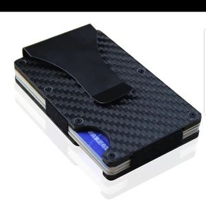 Other - Carbon  fiber  wallet  with  money  clip